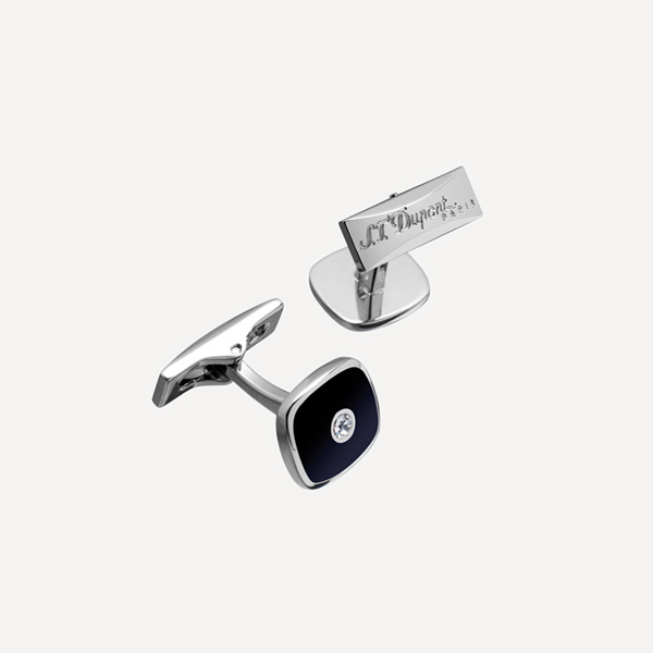 CUFFLINKS-SQUARE-BLACK-AND-PALLADIUM--(005593)